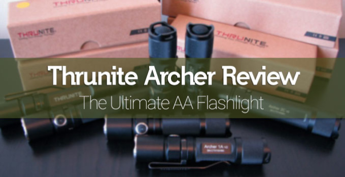Thrunite Archer Series XP-L Tactical Flashlight Review