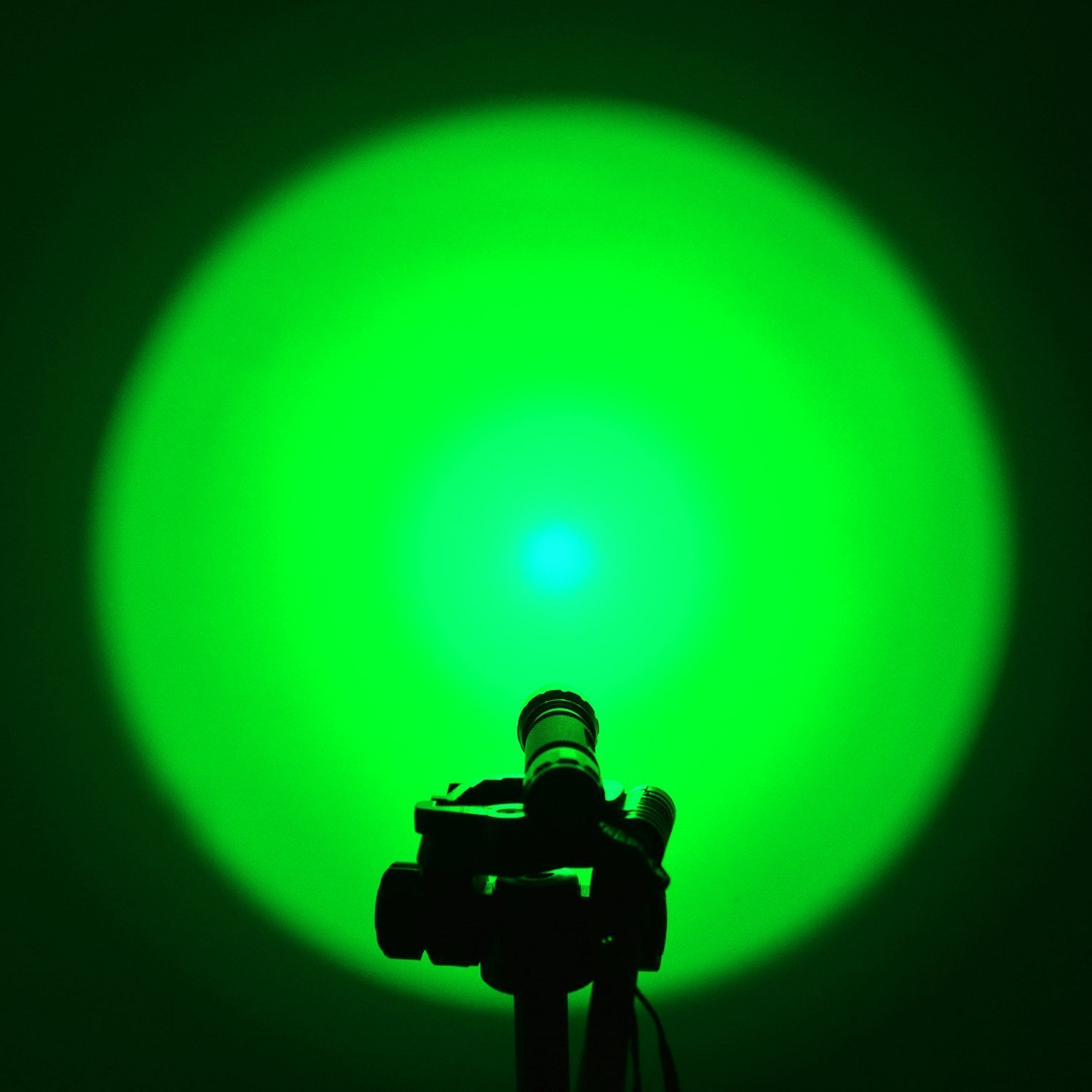 Comunite Portable 501B Green Flashlight Hunting Light