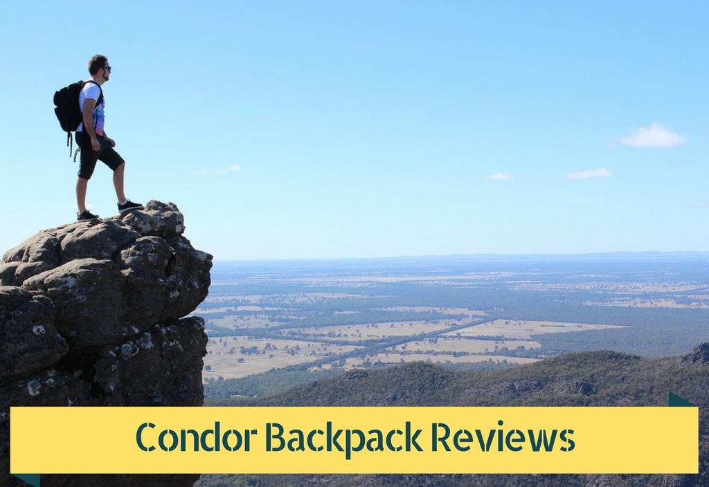 Condor Backpack Reviews