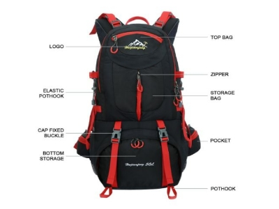 Hawaijiangfeng 50 L Hiking Backpack