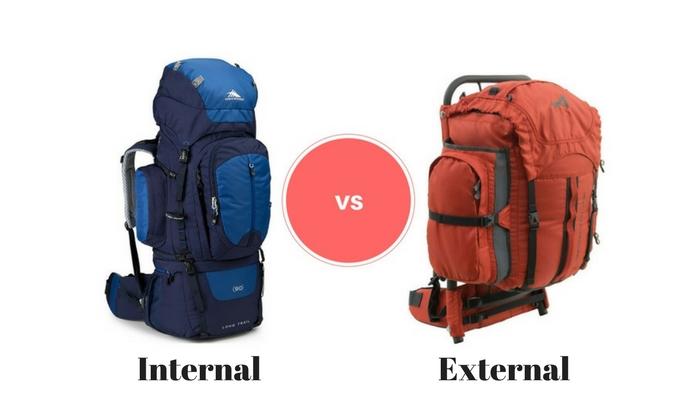 Internal and External Frame Backpacks